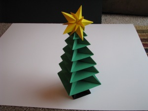 Origami Christmas Tree Tutorial 36